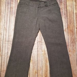 The Limited Dress Pants Drew Fit Gray Checkered 8